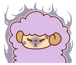 Colorful Sheep! sticker #4452487