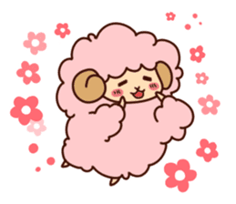 Colorful Sheep! sticker #4452489