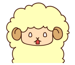 Colorful Sheep! sticker #4452491