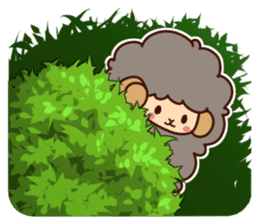 Colorful Sheep! sticker #4452492