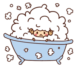 Colorful Sheep! sticker #4452493
