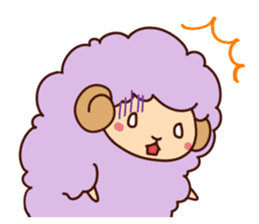 Colorful Sheep! sticker #4452494