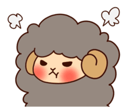 Colorful Sheep! sticker #4452498