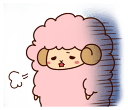 Colorful Sheep! sticker #4452499
