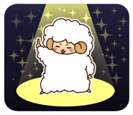 Colorful Sheep! sticker #4452503