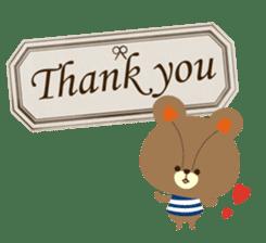 Gratitude is told. sticker #4454191