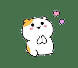 Cute hamster!! sticker #4455072