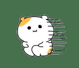 Cute hamster!! sticker #4455075