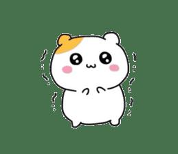Cute hamster!! sticker #4455078