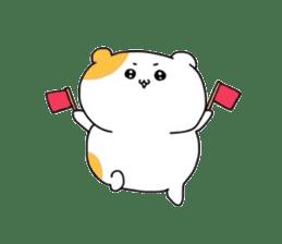 Cute hamster!! sticker #4455079