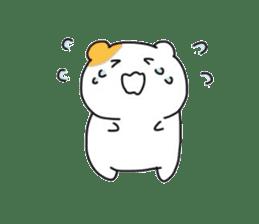 Cute hamster!! sticker #4455081