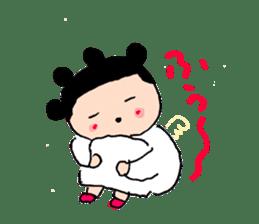 Pea angel sticker #4459988