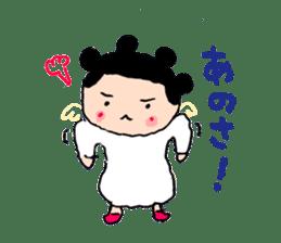 Pea angel sticker #4459990