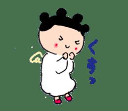 Pea angel sticker #4459993