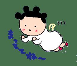 Pea angel sticker #4460000
