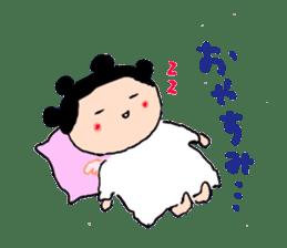 Pea angel sticker #4460006
