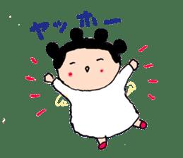 Pea angel sticker #4460017