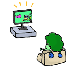 Jabbing Bread ~daily life~ sticker #4461034