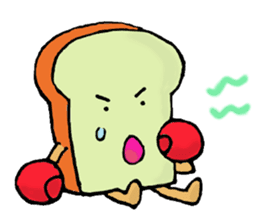 Jabbing Bread ~daily life~ sticker #4461060