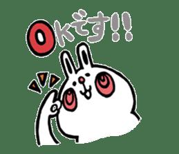 Loose bunny sticker #4461831