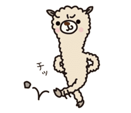Three alpacas sticker- Negative thinking sticker #4463119