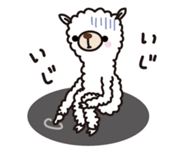 Three alpacas sticker- Negative thinking sticker #4463132