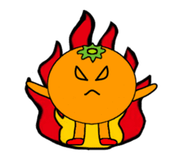 orangerin sticker #4463993