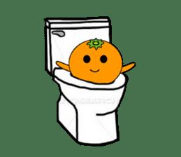 orangerin sticker #4464005