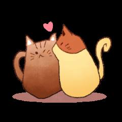 Mochacat&caramel