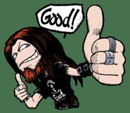 heavy metal sticker #4480034