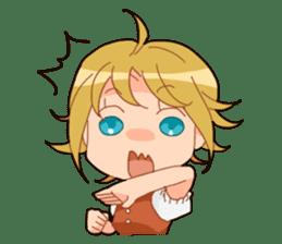 Chika-chan sticker #4482073