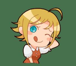 Chika-chan sticker #4482086