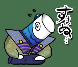 Koinobori Samurai sticker #4485677