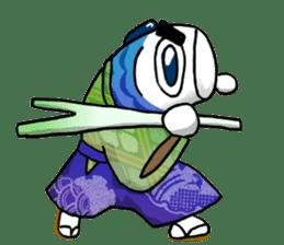 Koinobori Samurai sticker #4485678