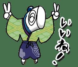 Koinobori Samurai sticker #4485688