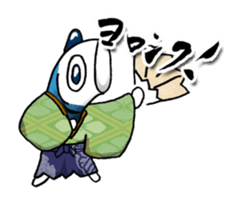 Koinobori Samurai sticker #4485696