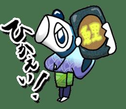 Koinobori Samurai sticker #4485698