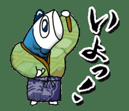 Koinobori Samurai sticker #4485699
