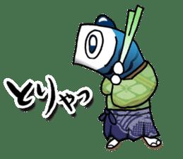 Koinobori Samurai sticker #4485700