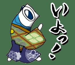 Koinobori Samurai sticker #4485711