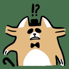 Paul, a gentle racoon sticker #4485843