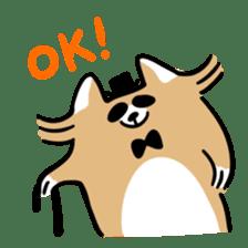 Paul, a gentle racoon sticker #4485849
