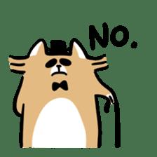 Paul, a gentle racoon sticker #4485855