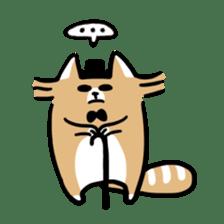 Paul, a gentle racoon sticker #4485860