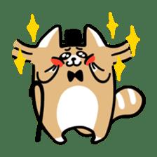 Paul, a gentle racoon sticker #4485862