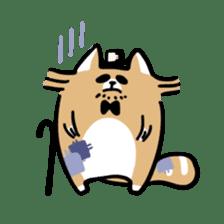 Paul, a gentle racoon sticker #4485864