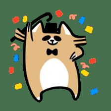 Paul, a gentle racoon sticker #4485868