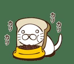 toast cat sticker #4489683