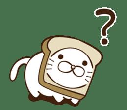 toast cat sticker #4489706
