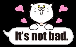 Costume of the cat -English1- sticker #4490295